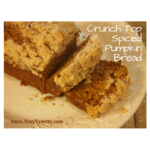 Crunch Top Spiced Pumpkin Bread Recipe